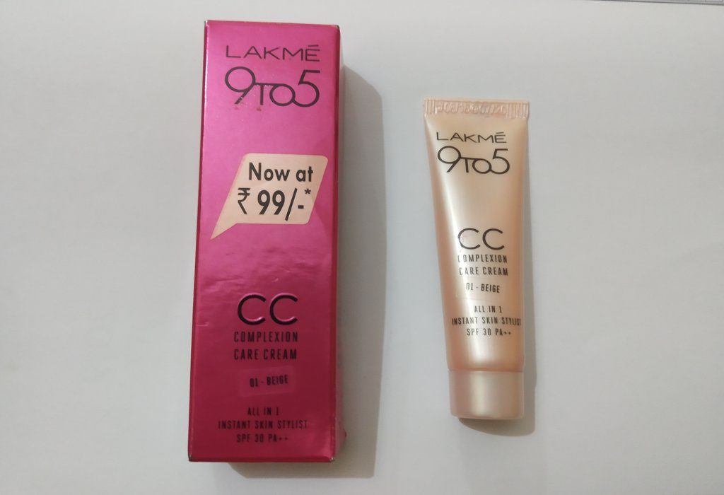 lakme 9 to 5 CC Complexion Care Cream