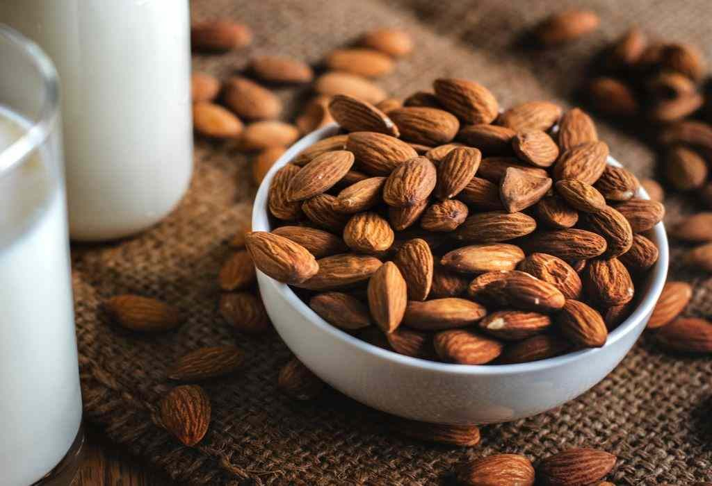 almond as skin glowing home remedy