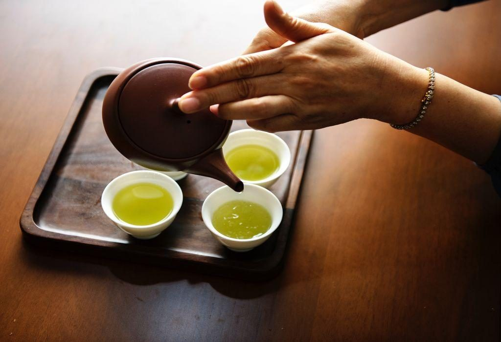 green tea for glowing skin