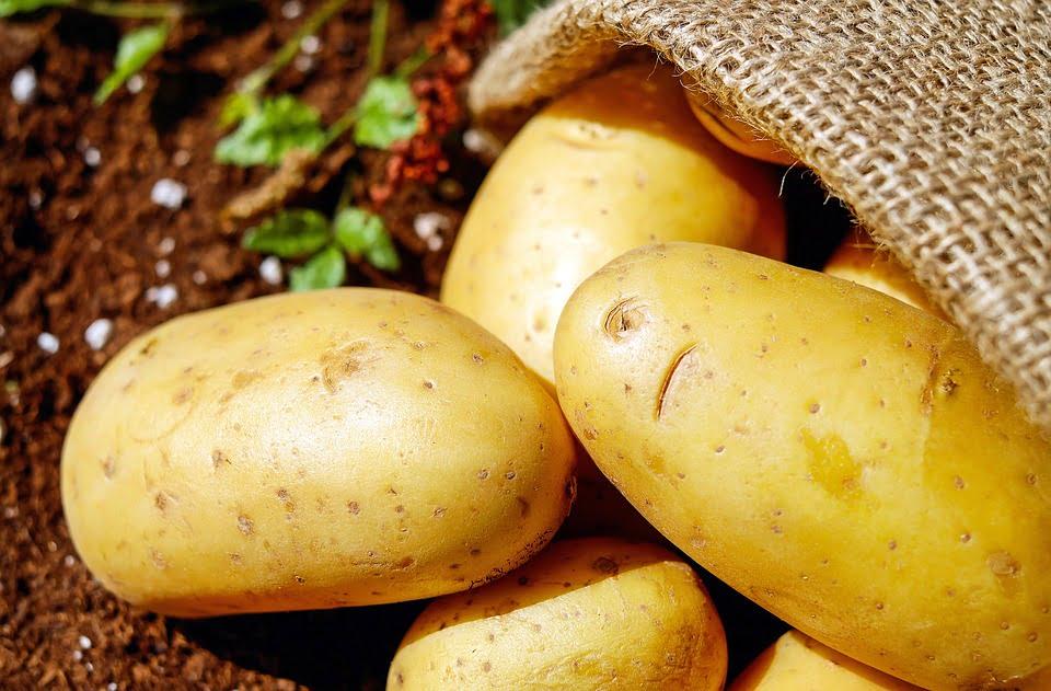 Potato for dark underarms