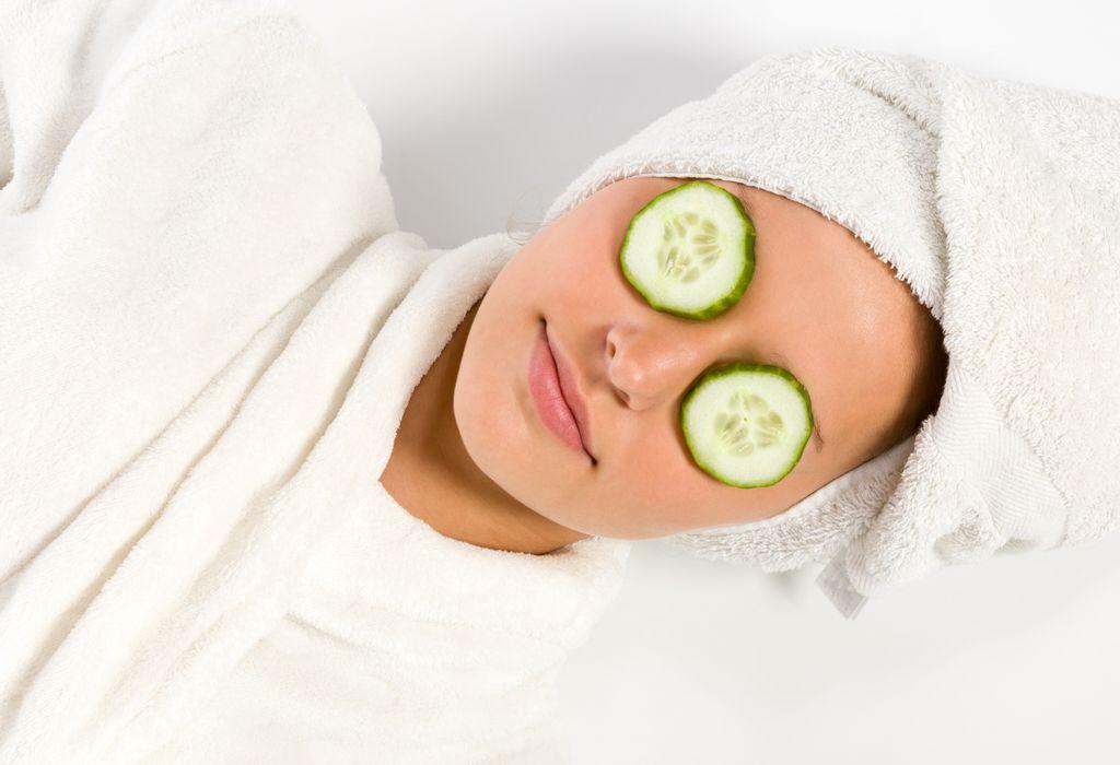 cucumber for skin