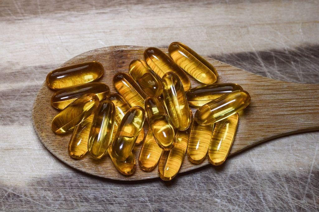 omega 3 capsules for dandruff.