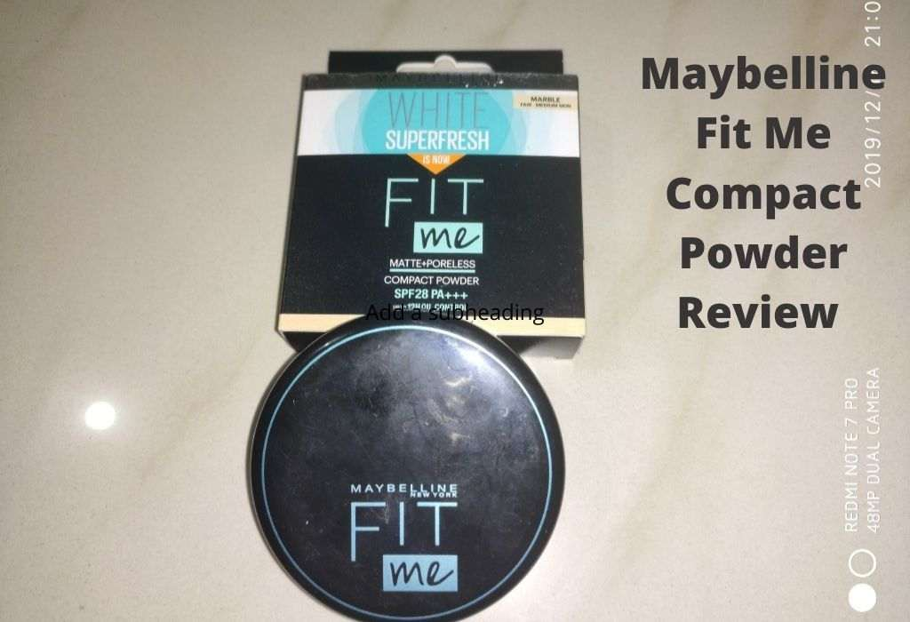 Mebelline Fit Me Compact Powder Review