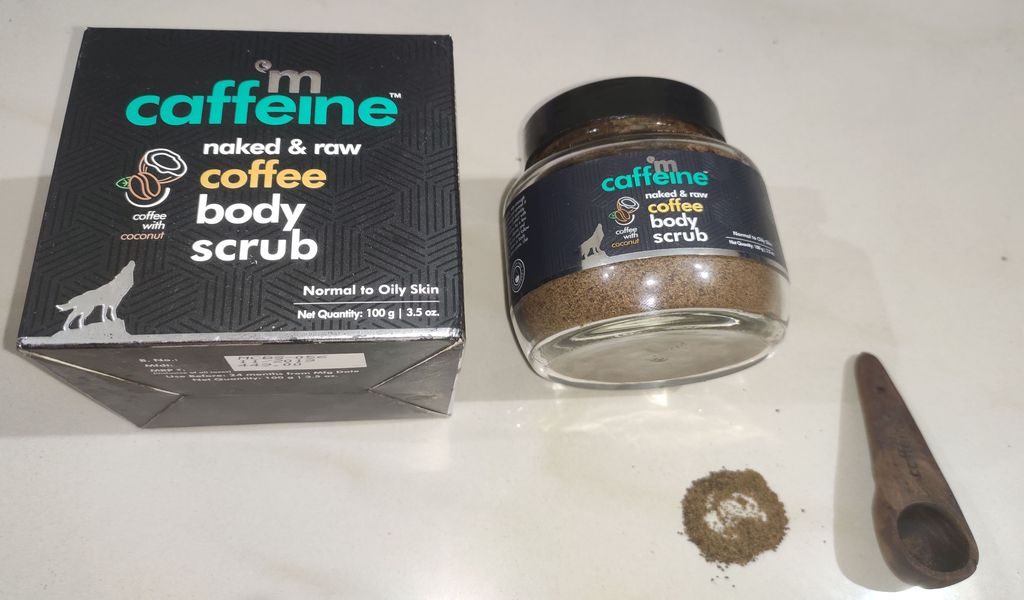 M-caffeine Coffee Body Scrub Review