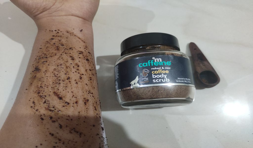 How to use mcaffeine coffee body scrub